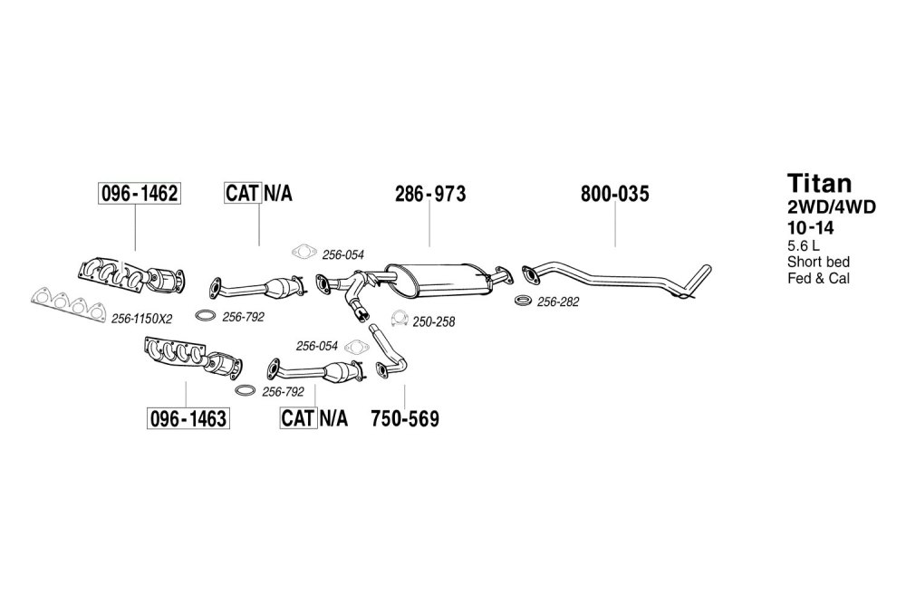 medium resolution of  replacement exhaust kit