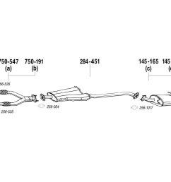 bosal exhaust muffler [ 1500 x 1000 Pixel ]