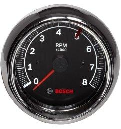bosch sport ii 3 3 8 tachometer black 8000 [ 1500 x 1500 Pixel ]