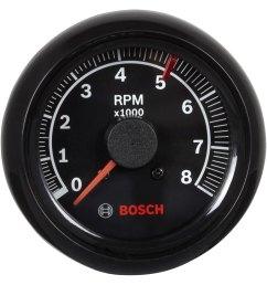 bosch sport ii 2 5 8 tachometer black 8000 [ 1500 x 1500 Pixel ]