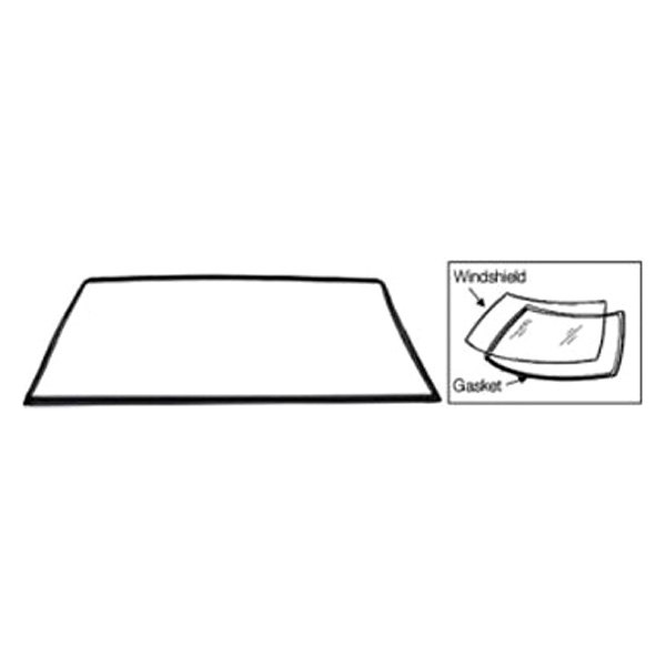 For Toyota Land Cruiser 1979-1983 C.R. Laurence Windshield