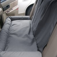 Canine Covers DBS4619GY - Gray Back Seat Dog Bed