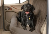 Canine Covers DBS4619TP - Taupe Back Seat Dog Bed
