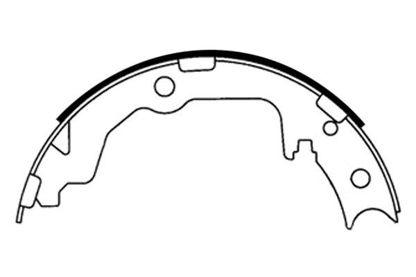 For Mitsubishi Lancer 08-17 Centric 111.08861 Premium Rear