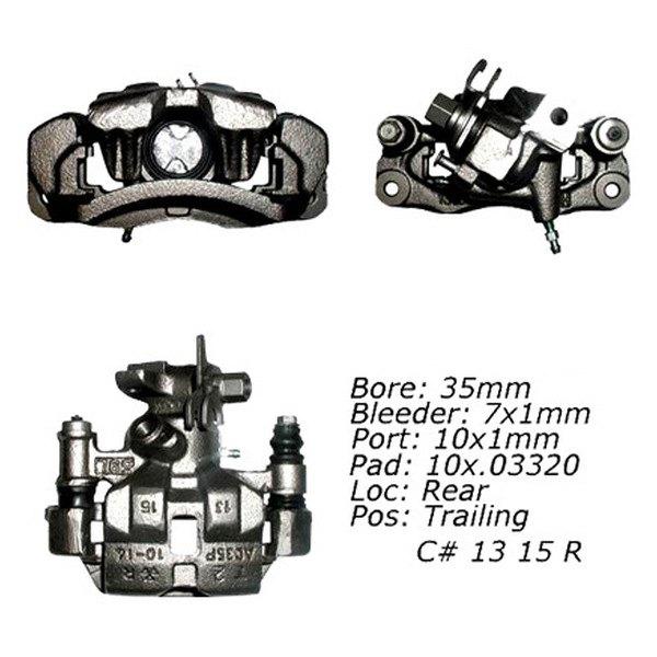 For Mazda RX-7 86-91 Brake Caliper Remanufactured Semi