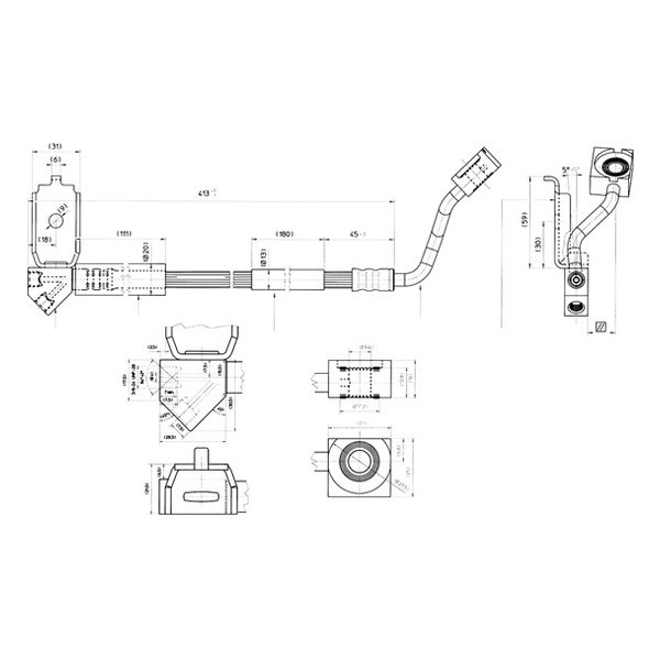 For Ford Ranger 1998-2003 Centric 150.65118 Front Driver