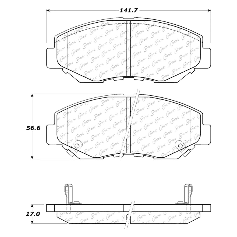 Brake Pads Diagram