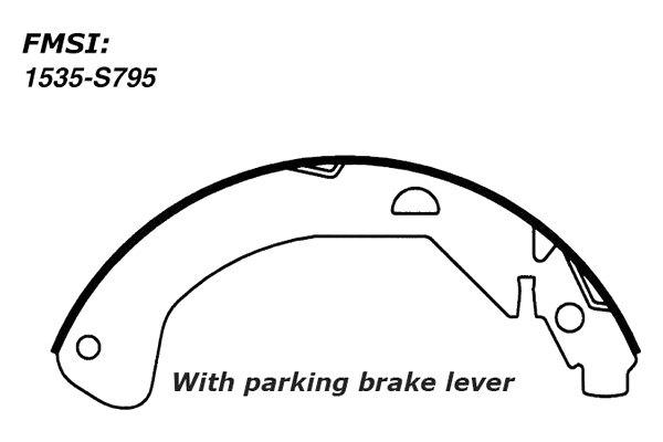 For Chevy Cobalt 2005-2008 Centric 110.07951 C-Tek Rear