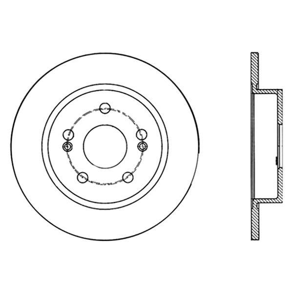 For Renault Scenic 01-03 Centric 121.99041 C-Tek Standard