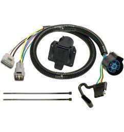 trailer hitch wiring accessories 7 pole trailer wiring 2006 toyota highlander trailer wiring diagram 2008 toyota [ 1500 x 1500 Pixel ]