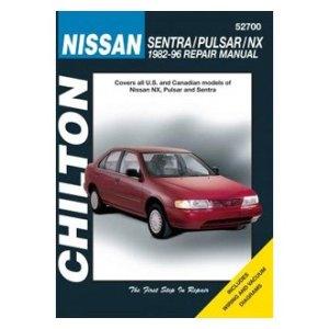 Chilton® 52700  Nissan SentraPulsarNX Repair Manual