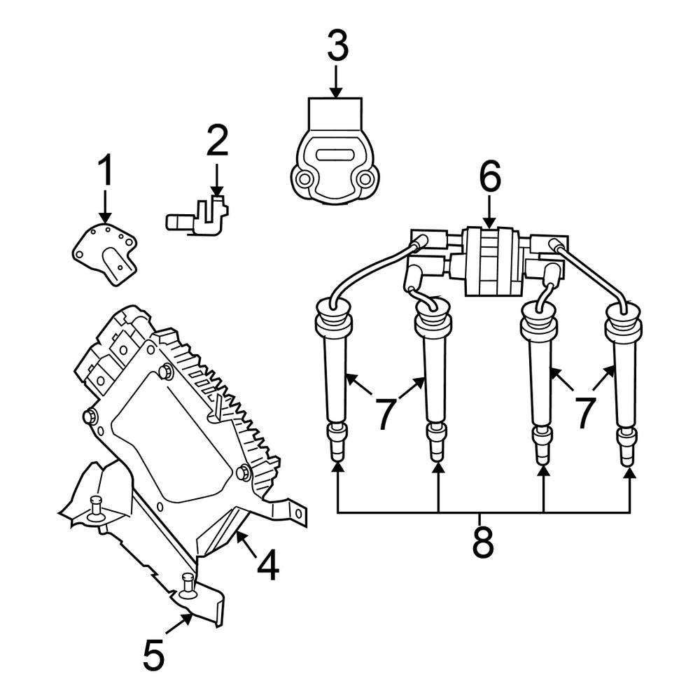 Pt Cruiser Crankshaft Sensor Location / Chrysler Pt