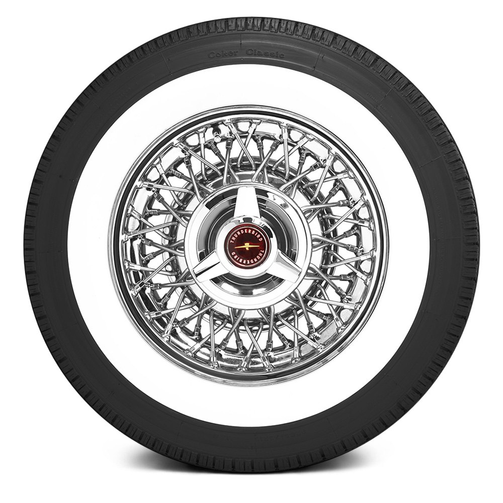 COKER CLASSIC 2 34 WW INCH WHITEWALL Tires
