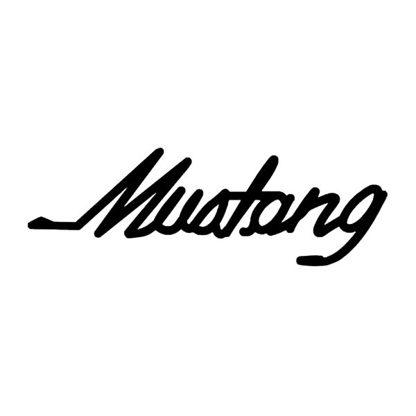 Ford mustang gt font