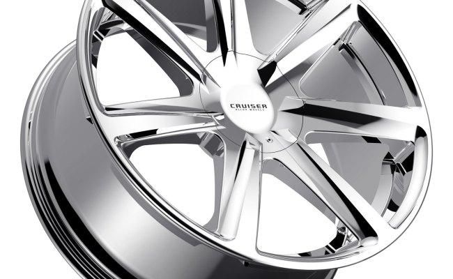 Cruiser Alloy 922c Kinetic Wheels Chrome Rims