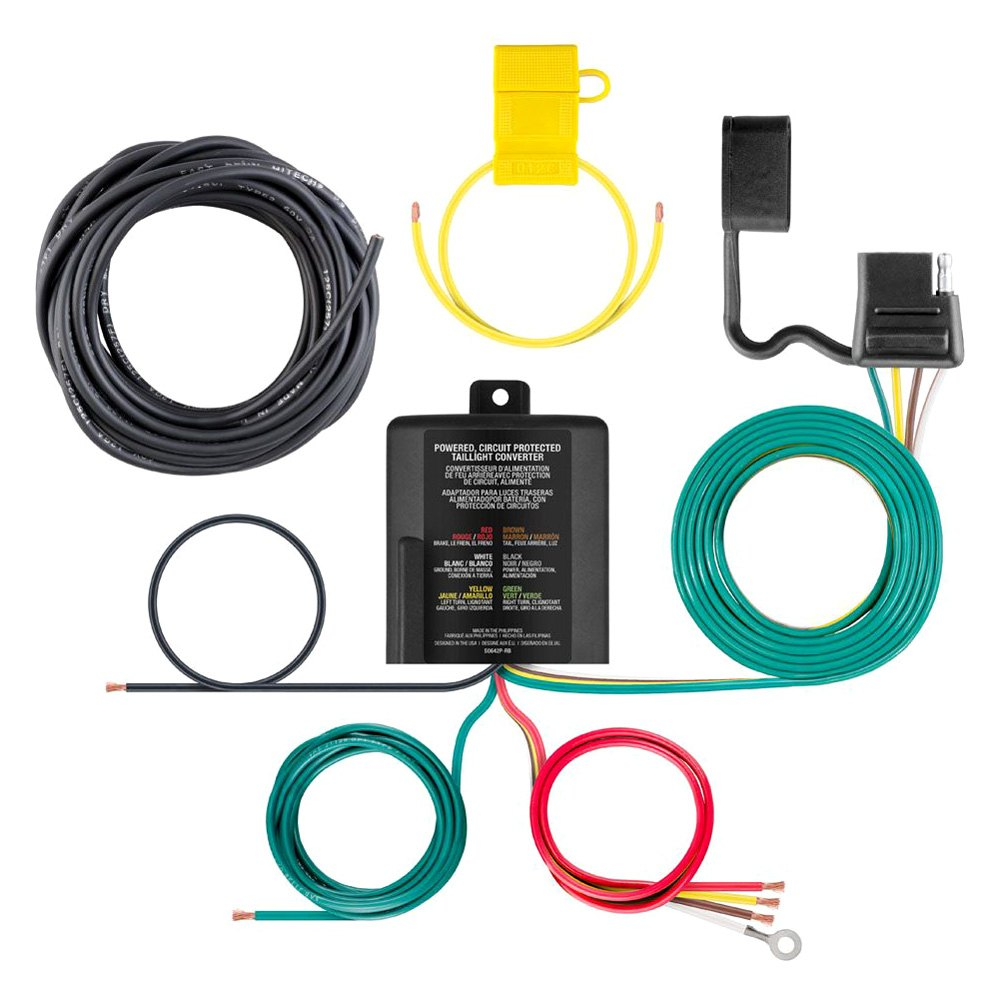 medium resolution of curt multi function tail light converter kit