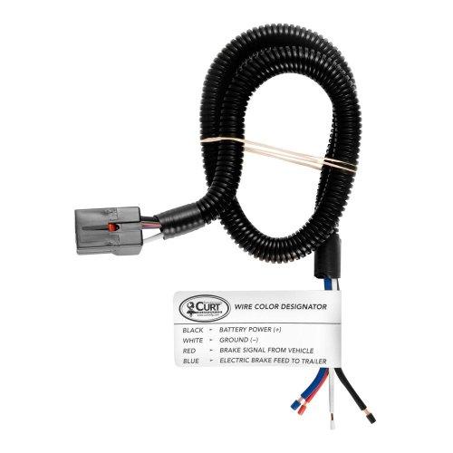 small resolution of curt u00ae nissan titan 2004 2015 brake control harness 2017 nissan titan trailer wiring 2017 nissan titan trailer wiring
