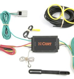 curt u00ae 56033 nissan rogue 2008 2009 3 wire t connector ford edge trailer wiring harness [ 1500 x 1000 Pixel ]