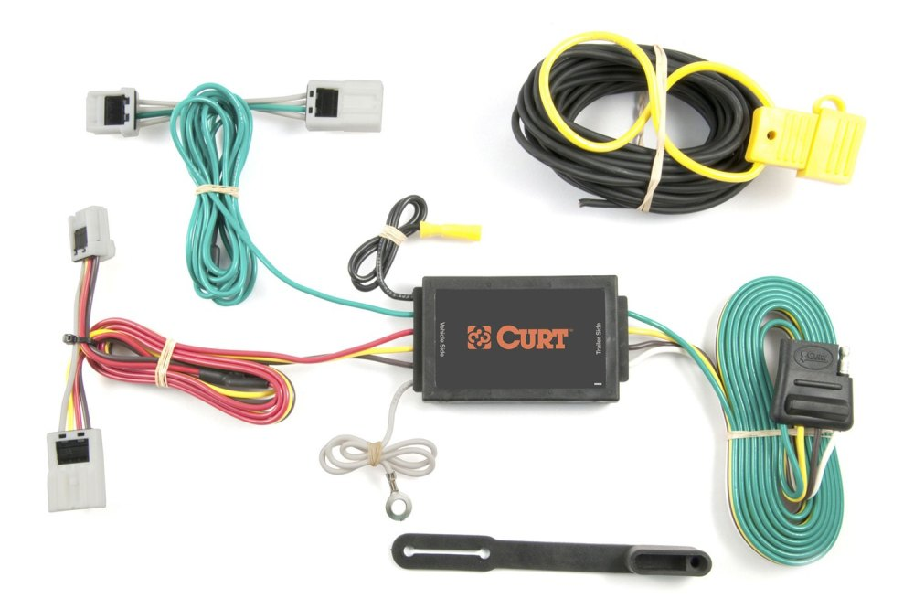 medium resolution of curt u00ae 56033 nissan rogue 2008 2009 3 wire t connector ford edge trailer wiring harness