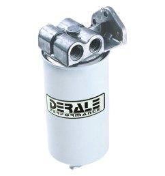 performance single mount 1 2 npt ports up fuel filter water separator kit [ 1000 x 1000 Pixel ]