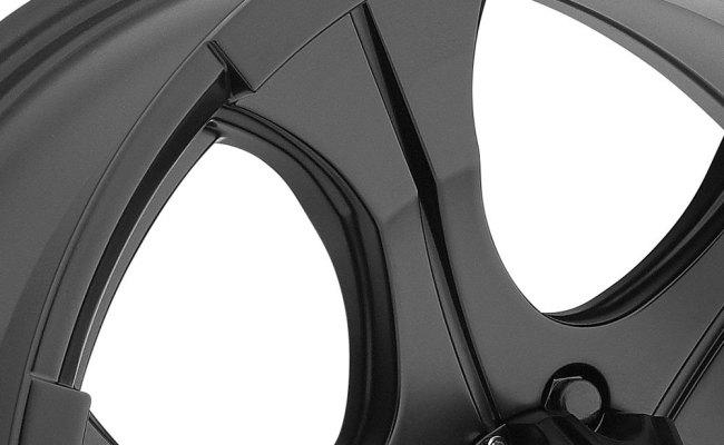 Dick Cepek 700b Dc Blackout Wheels Matte Black Rims