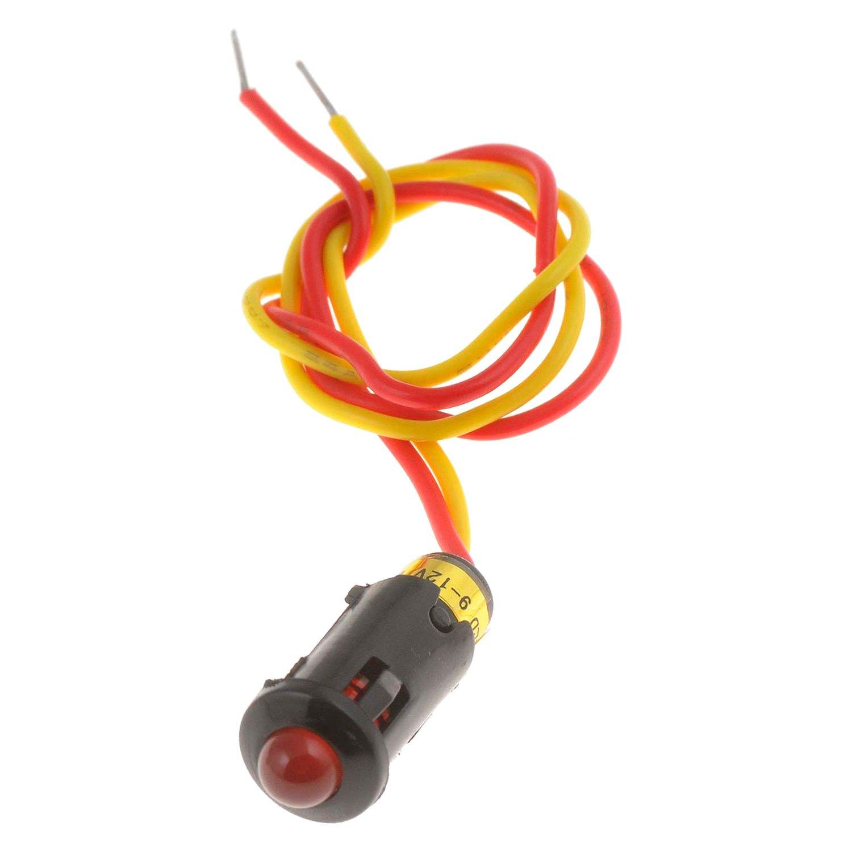 hight resolution of  indicatordorman conduct tite alarm red led light indicator