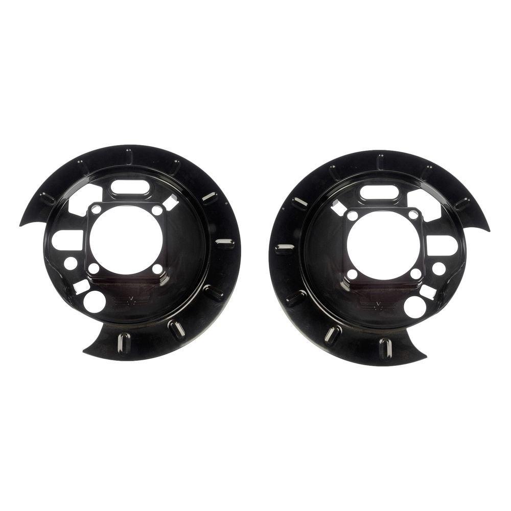 hight resolution of for chevy trailblazer 2002 2009 dorman rear brake dust shields