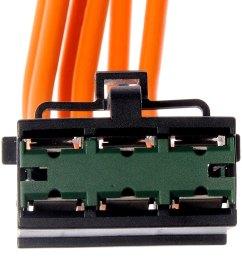 dorman hvac blower motor resistor connector [ 1000 x 1000 Pixel ]