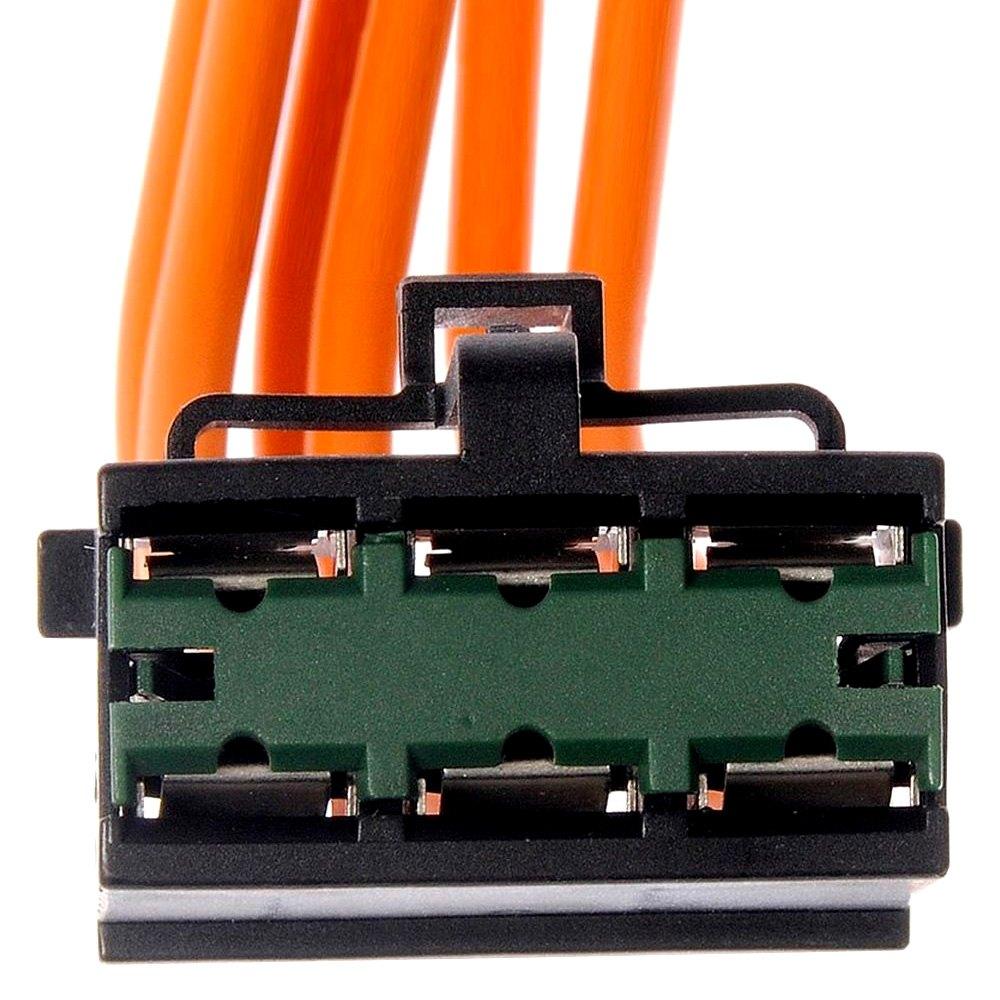 medium resolution of dorman hvac blower motor resistor connector