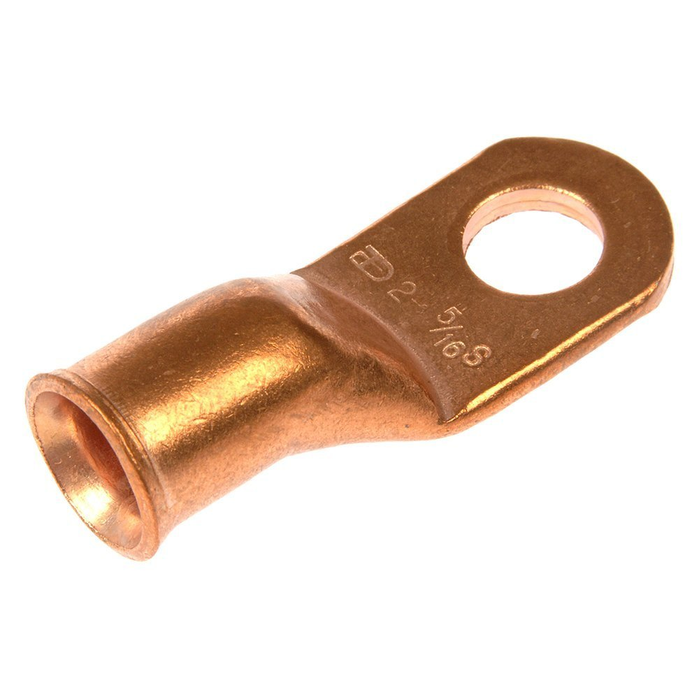 hight resolution of dorman 5 16 2 gauge uninsulated copper ring terminal