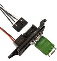 dorman hvac blower motor resistor kit [ 1000 x 1000 Pixel ]