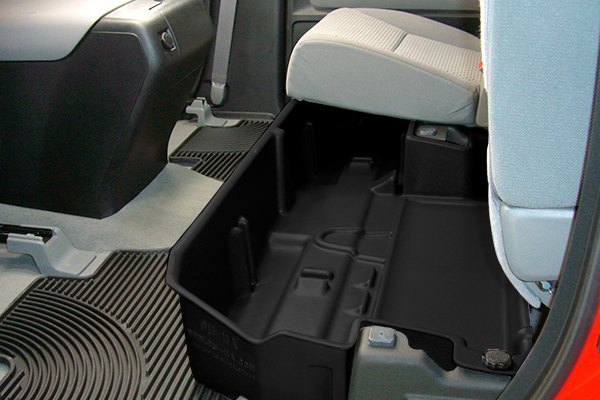 DU HA Toyota Tundra Double Cab 2007 Underseat Storage Case