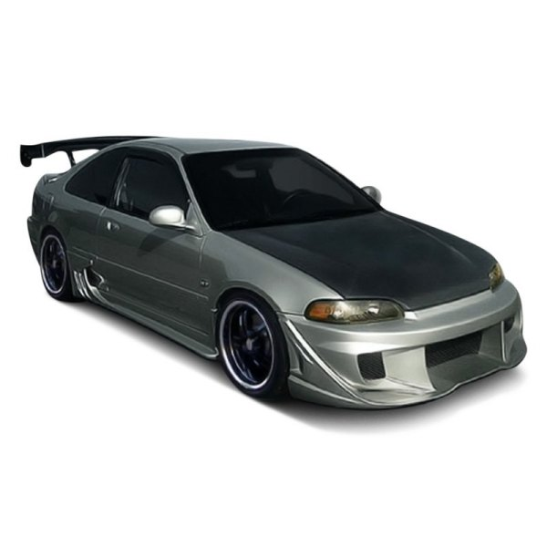 Duraflex - Honda Civic 1995 -sport Style Fiberglass Body Kit