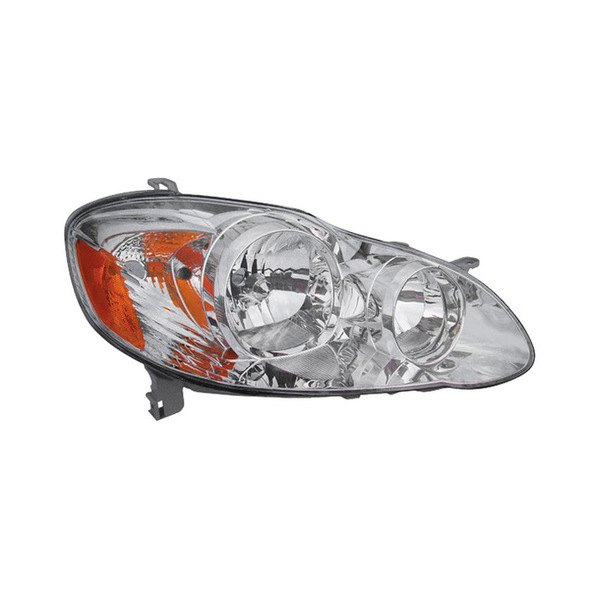 Toyota Corolla Headlight Diagram