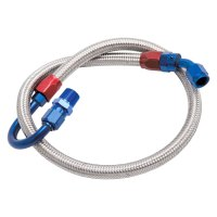 Edelbrock 8125 - Braided Stainless Steel Fuel Hose Kit