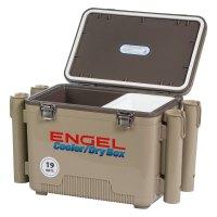 Engel USA UC19T-RH - 19 Quart Tan Cooler/Dry Box with Rod ...