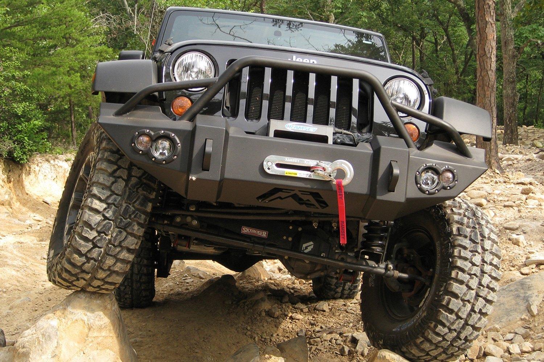 Fab Fours Jeep Wrangler 2014 Lifestyle Full Width Black