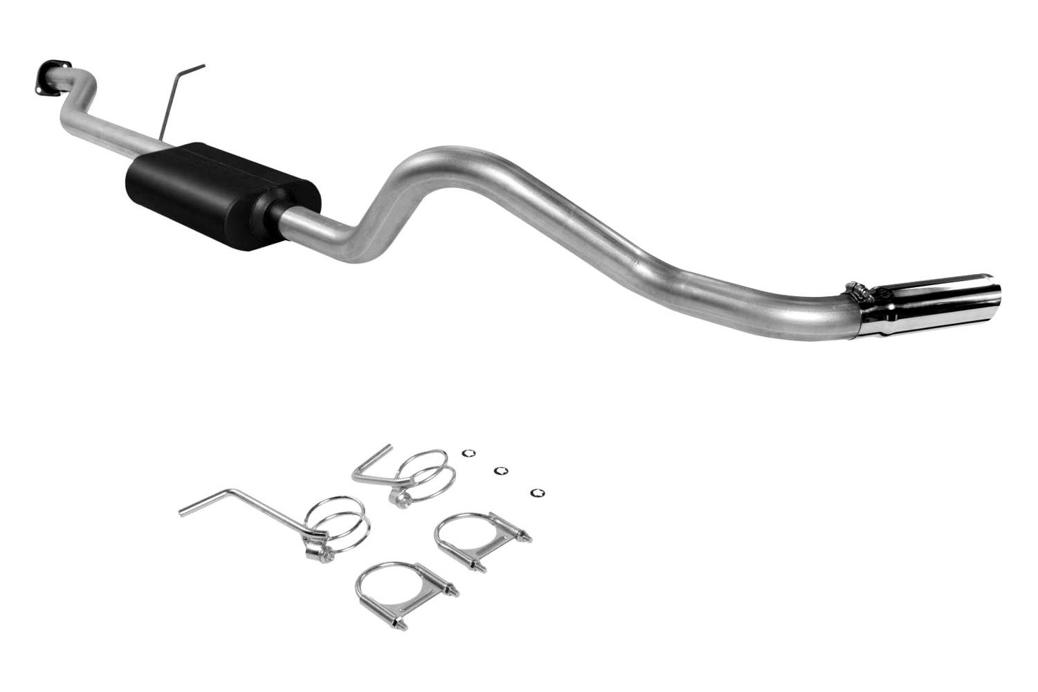 For Chevy Silverado Classic 07 Exhaust System Force