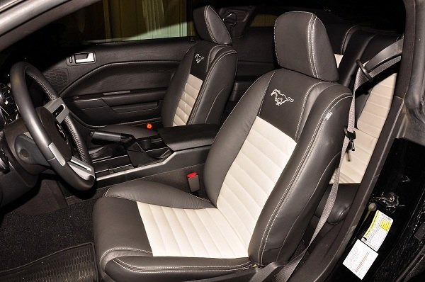 Katzkin Leather Upholstery Interior Kit For Your Mustang
