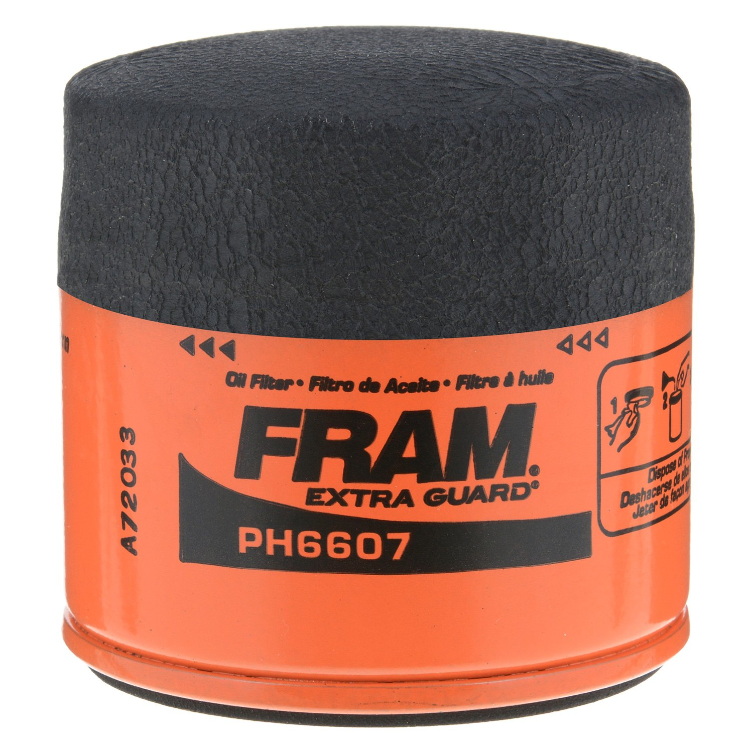 hight resolution of fram extra guard new design oil filter