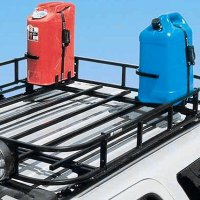 Garvin Wilderness 34102 - Roof Rack Mounted Gas/Water Can ...