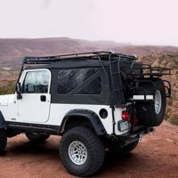 GOBI - Jeep Wrangler 1997-2001 Stealth Roof Cargo Basket