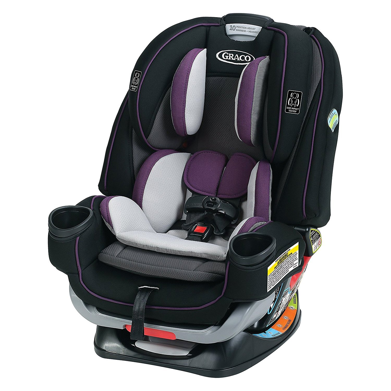 Graco Baby  4Ever Extend2Fit AllinOne Car Seat