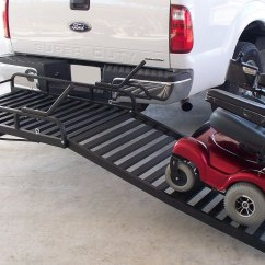Wheelchair Trailer First High Chair Invented Great Day Might Lite Scooter Cargo Carrier