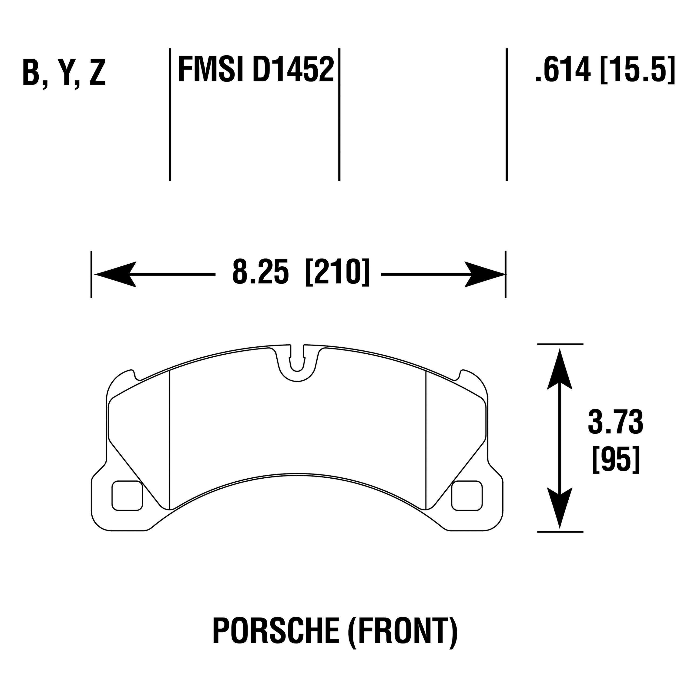 For Porsche Cayenne Hawk Light Truck Amp Suv Front