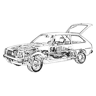 For Mazda GLC 1977-1983 Haynes Manuals 61010 Repair Manual