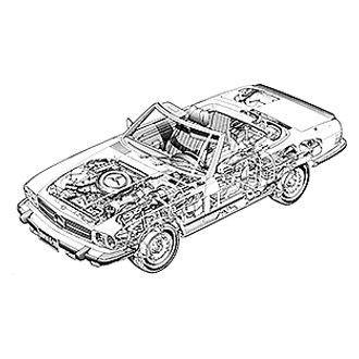 For Mercedes-Benz 450SEL 1975-1980 Haynes Manuals 63030