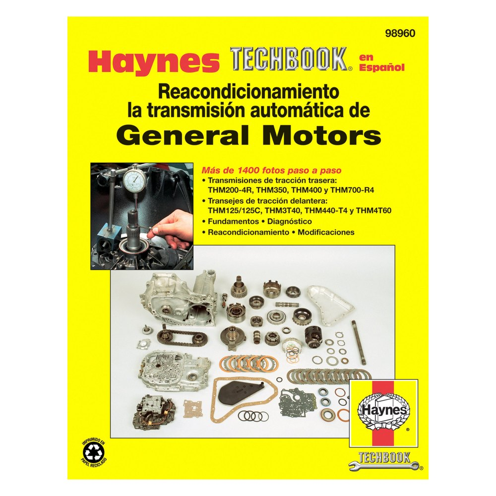 medium resolution of haynes manuals general motors automatic transmission overhaul techbook