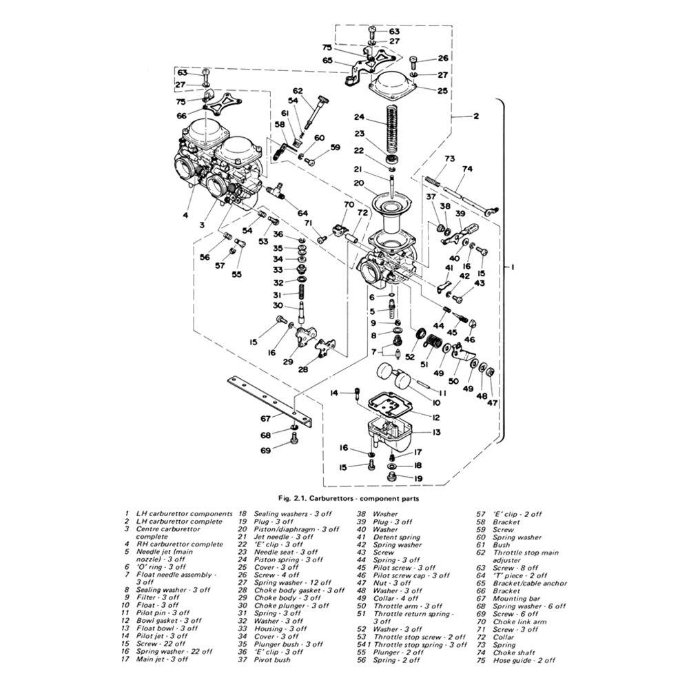 For Yamaha XS850 80-81 Repair Manual Yamaha XS750 & 850