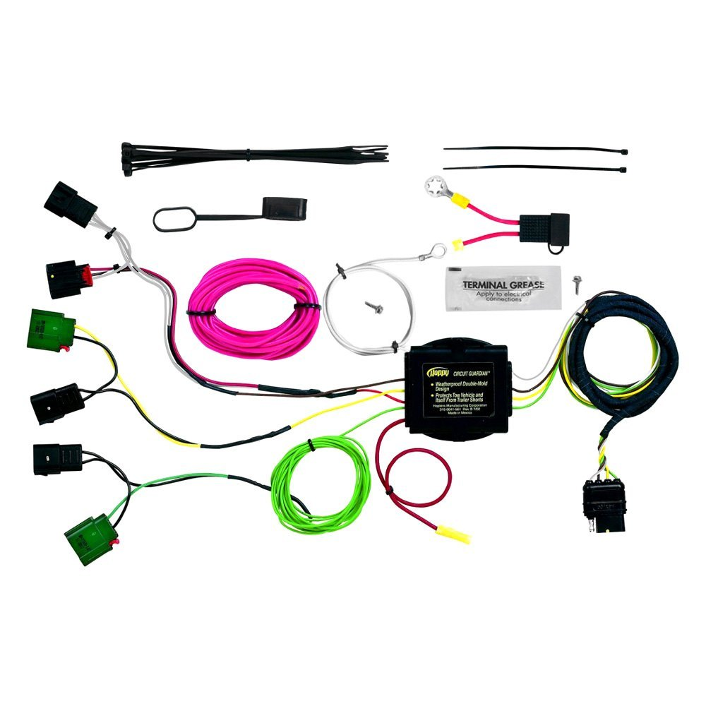 hight resolution of hopkins plug in simple towing wiring harness with 4 flat hopkins dodge journey
